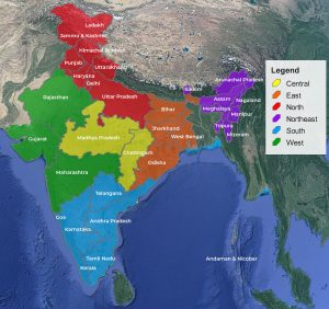 India Birding Regions