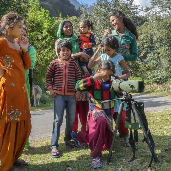Village Kids Birding